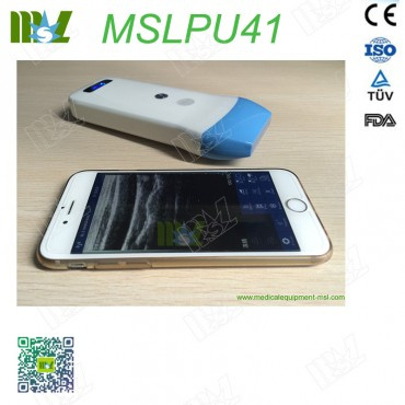128 Element Ultrasound Scan linear Probe MSLPU41