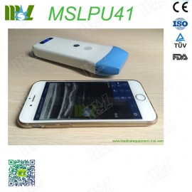 128 Element Ultrasound Scan linear Probe MSLPU41